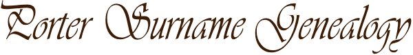 Porter Family Genealogy logo